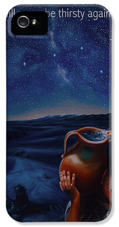 Water IPhone 5 / 5s Case featuring the painting Abundance by Ann Holder