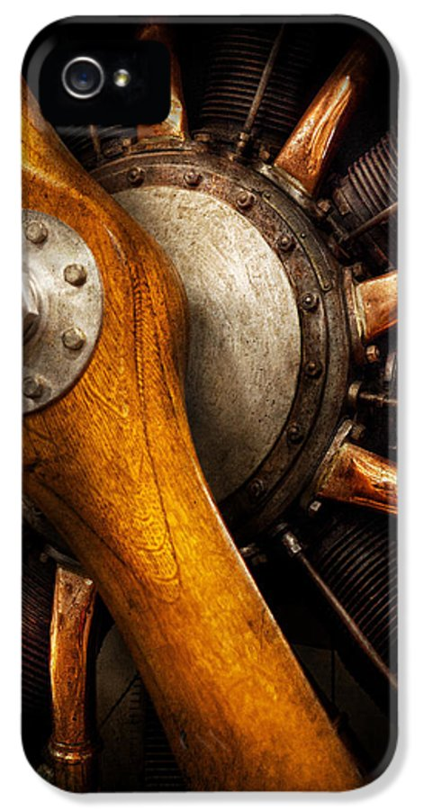 Propeller IPhone 5 / 5s Case featuring the photograph Air - Pilot - You Got Props by Mike Savad