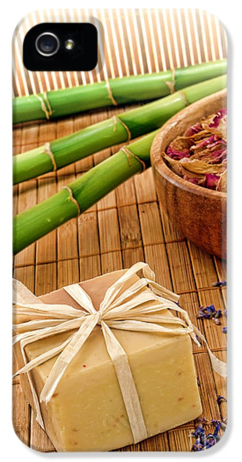 Aromatherapy IPhone 5 / 5s Case featuring the photograph Aromatherapy Soap Bar by Olivier Le Queinec