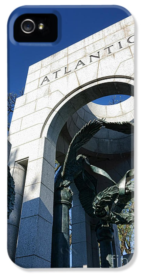Atlantic IPhone 5 / 5s Case featuring the photograph Atlantic by Olivier Le Queinec