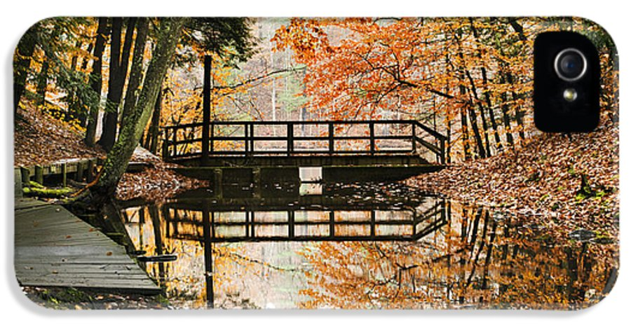 Fall IPhone 5 / 5s Case featuring the photograph Autumn Pleasure by Christina Rollo