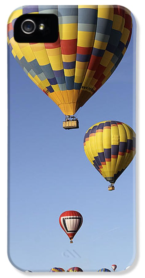 Balloon Fiesta IPhone 5 / 5s Case featuring the photograph Balloon Fiesta 2012 by Mike McGlothlen
