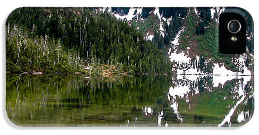 Alaska IPhone 5 / 5s Case featuring the photograph Baranof Lake by Robert Bales