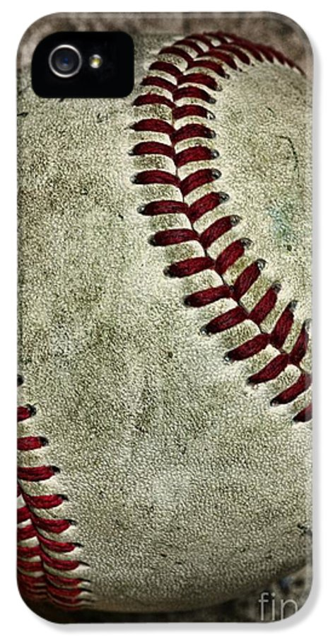 Paul Ward IPhone 5 / 5s Case featuring the photograph Baseball - A Retired Ball by Paul Ward