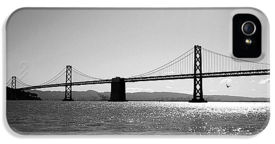 Bay Bridge IPhone 5 / 5s Case featuring the photograph Bay Bridge by Rona Black