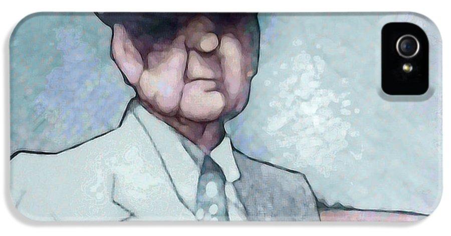 Alabama IPhone 5 / 5s Case featuring the painting Bear by Jerrett Dornbusch