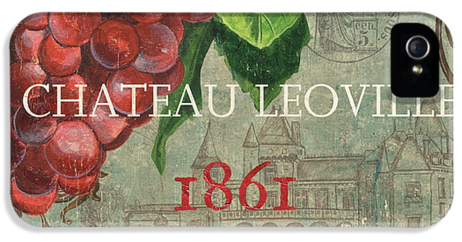 Wine IPhone 5 / 5s Case featuring the painting Beaujolais Nouveau 1 by Debbie DeWitt