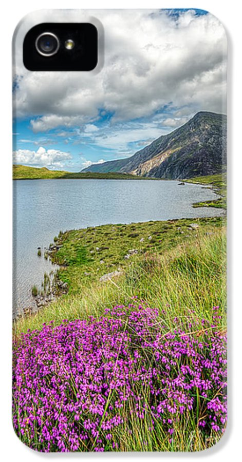 Clouds IPhone 5 / 5s Case featuring the photograph Beautiful Wales by Adrian Evans
