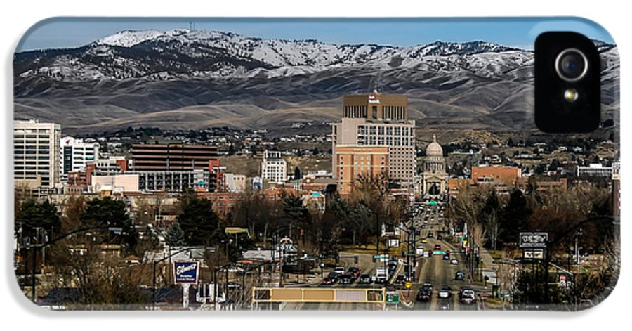 City IPhone 5 / 5s Case featuring the photograph Boise Idaho by Robert Bales