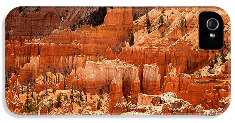 America IPhone 5 / 5s Case featuring the photograph Bryce Canyon Landscape by Jane Rix