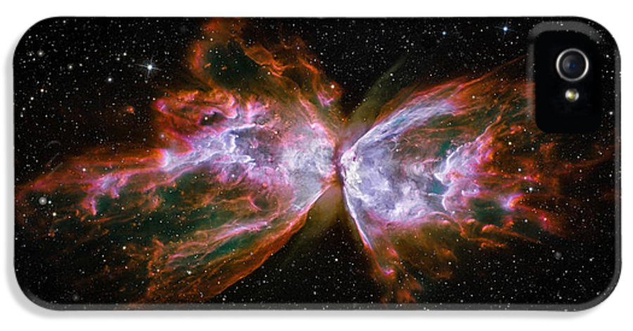 3scape Photos IPhone 5 / 5s Case featuring the photograph Butterfly Nebula Ngc6302 by Adam Romanowicz