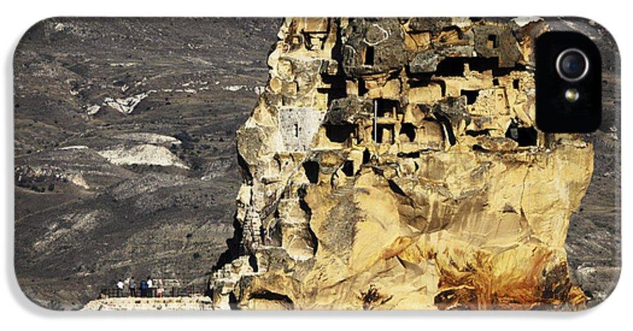 Cappadocia IPhone 5 / 5s Case featuring the pyrography Cappadocia by Jelena Jovanovic