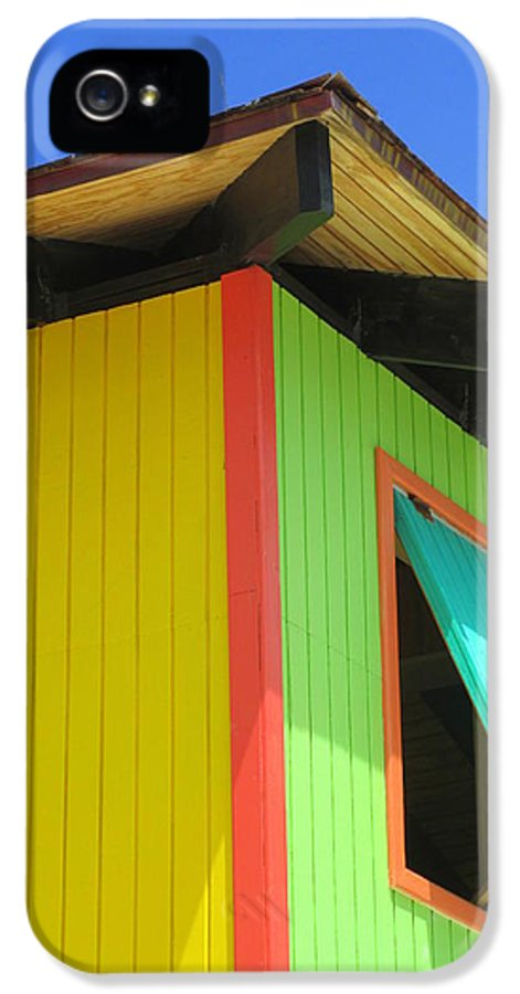 Caribbean Corner IPhone 5 / 5s Case featuring the photograph Caribbean Corner 2 by Randall Weidner