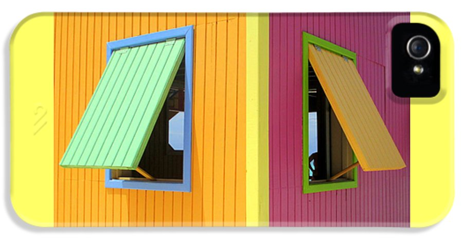 Caribbean Corner IPhone 5 / 5s Case featuring the photograph Caribbean Corner 3 by Randall Weidner