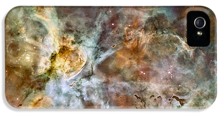 3scape Photos IPhone 5 / 5s Case featuring the photograph Carina Nebula by Adam Romanowicz