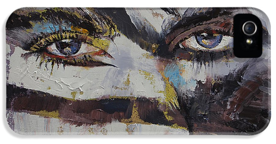 Carnival IPhone 5 / 5s Case featuring the painting Carnival by Michael Creese