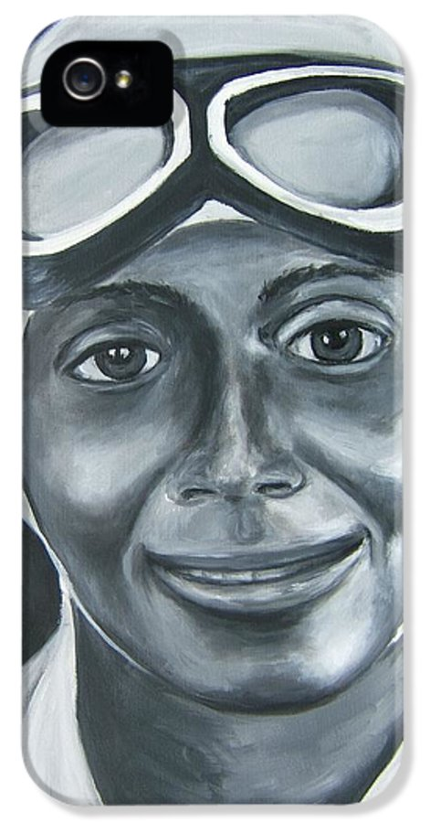 Charlie Wiggins IPhone 5 / 5s Case featuring the painting Charlie Wiggins by Joseph Love
