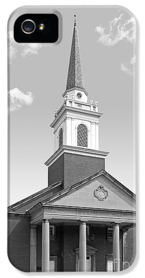 Campbell Memorial Chapel IPhone 5 / 5s Case featuring the photograph Chatham University Campbell Memorial Chapel by University Icons