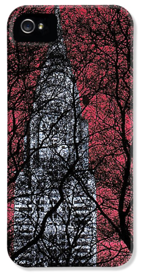 Nyc IPhone 5 / 5s Case featuring the photograph Chrysler Building 8 by Andrew Fare
