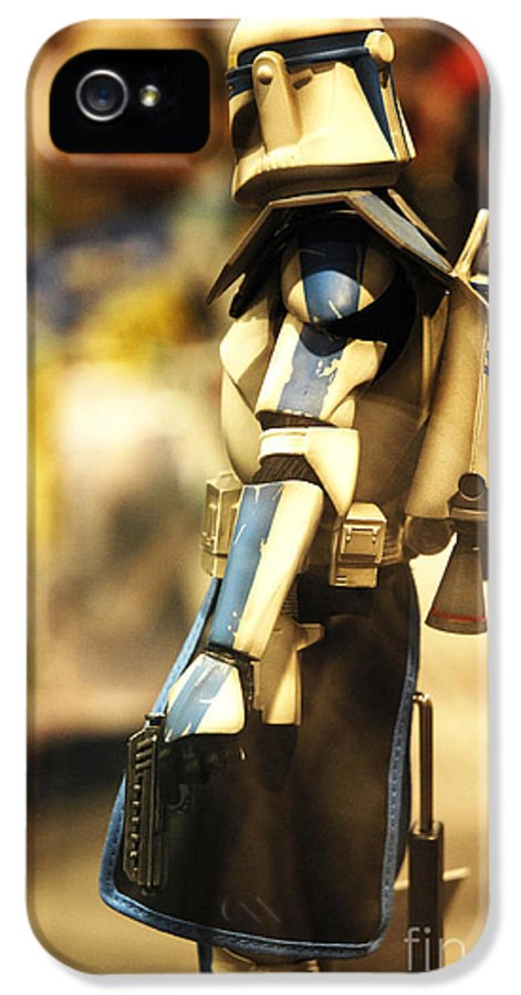 Star Wars IPhone 5 / 5s Case featuring the photograph Clone Trooper by Micah May