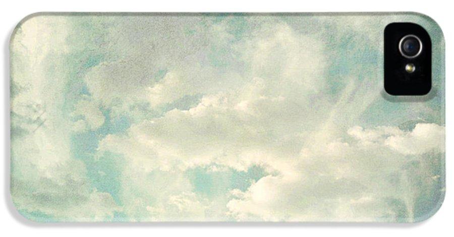 Brett IPhone 5 / 5s Case featuring the digital art Cloud Series 1 Of 6 by Brett Pfister