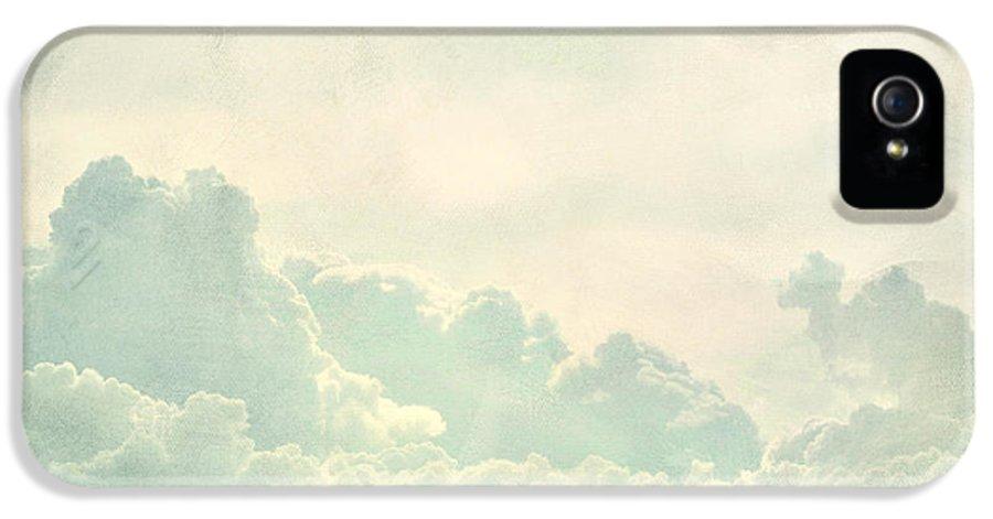 Brett IPhone 5 / 5s Case featuring the digital art Cloud Series 5 Of 6 by Brett Pfister