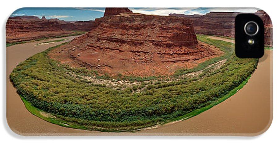 3scape Photos IPhone 5 / 5s Case featuring the photograph Colorado River Gooseneck by Adam Romanowicz