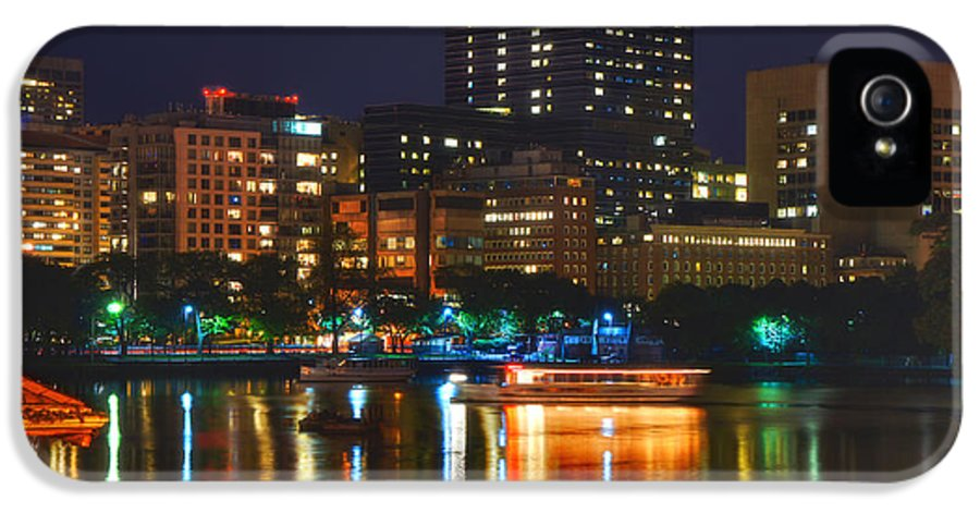 Charles River IPhone 5 / 5s Case featuring the photograph Colors On The Charles by Joann Vitali