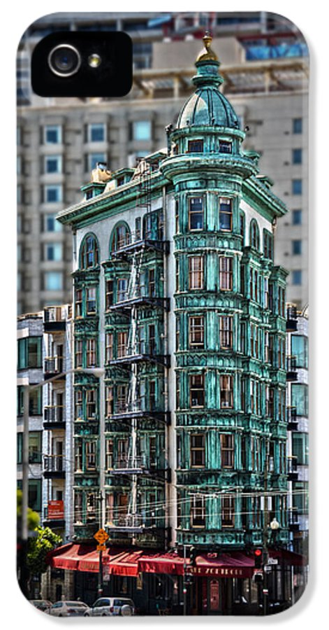 Columbus Tower IPhone 5 / 5s Case featuring the photograph Columbus Tower In San Francisco by RicardMN Photography