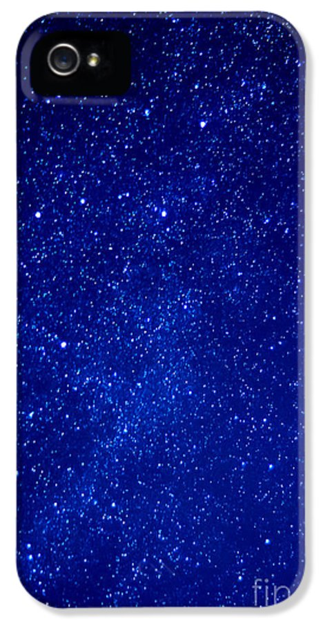 Night IPhone 5 / 5s Case featuring the photograph Constellation Cassiopeia by Thomas R Fletcher