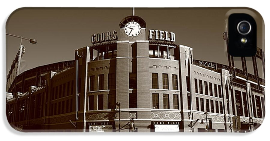 America IPhone 5 / 5s Case featuring the photograph Coors Field - Colorado Rockies 19 by Frank Romeo