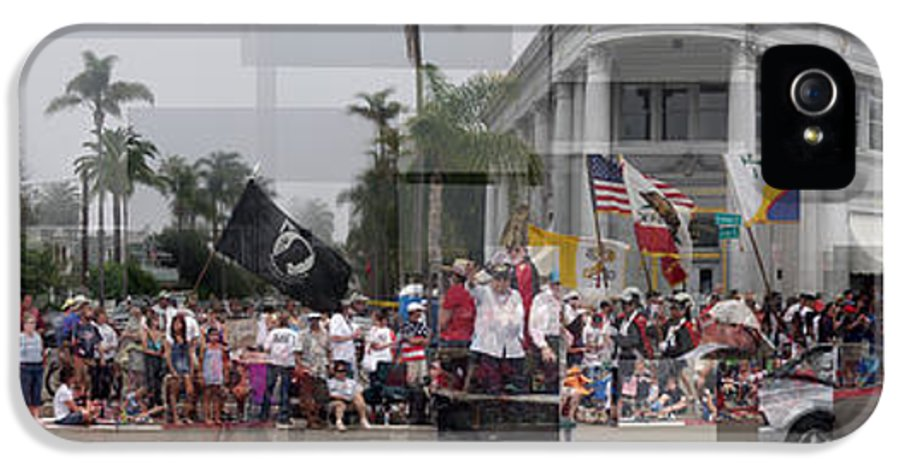 Coronado IPhone 5 / 5s Case featuring the photograph Coronado Fourth Of July Parade by Stephen Farley