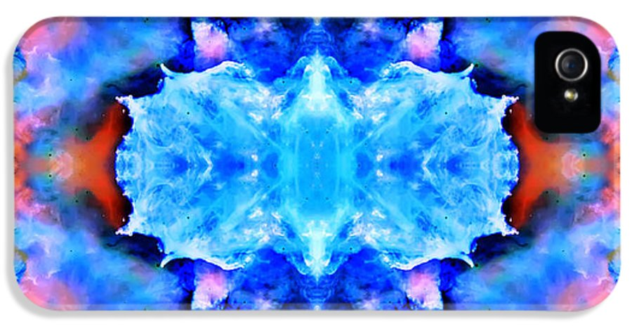 Universe IPhone 5 / 5s Case featuring the photograph Cosmic Kaleidoscope 1 by The Vault - Jennifer Rondinelli Reilly