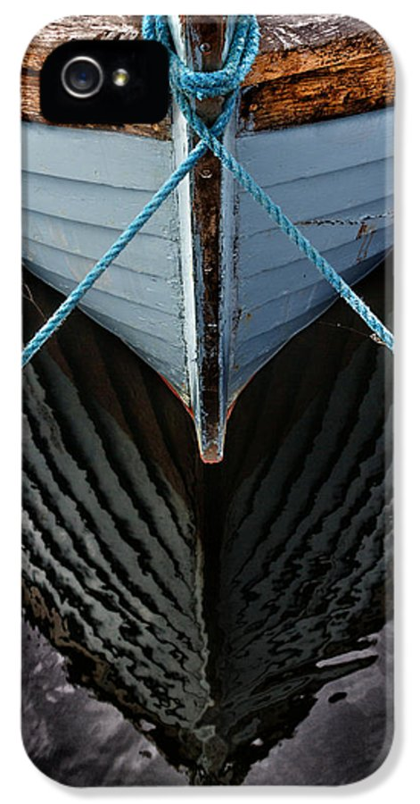 Bay IPhone 5 / 5s Case featuring the photograph Dark Waters by Stelios Kleanthous