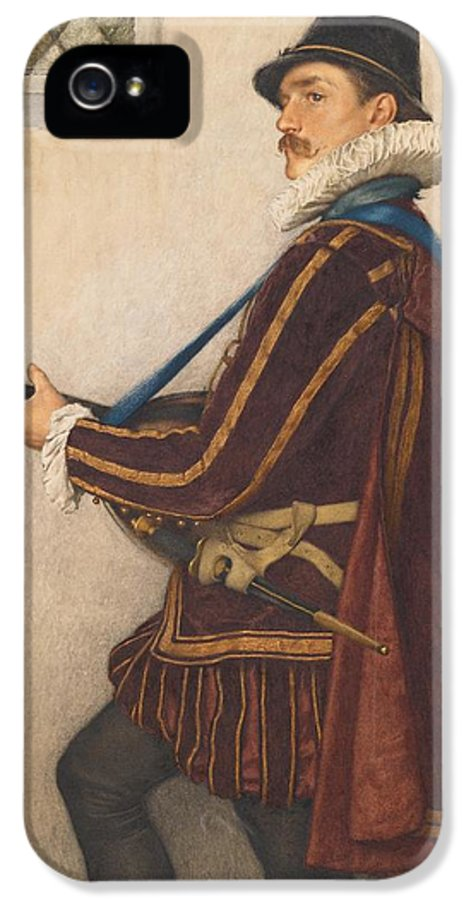 David IPhone 5 / 5s Case featuring the painting David Rizzio by Sir James Dromgole Linton