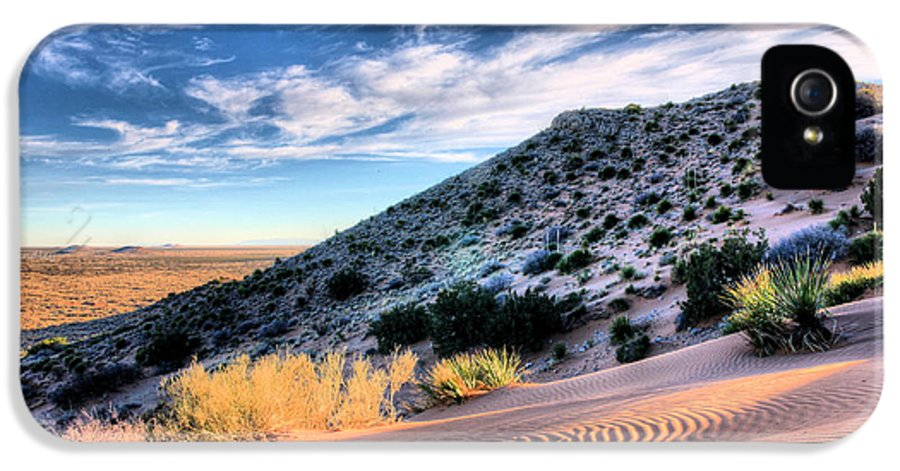 Blue Sky IPhone 5 / 5s Case featuring the photograph El Paso Blue by JC Findley