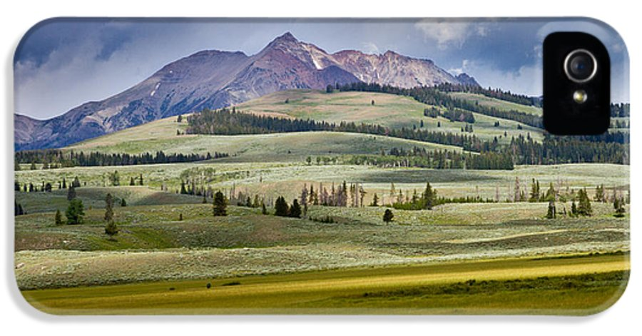 Montana IPhone 5 / 5s Case featuring the photograph Electric Peak by Bill Gallagher