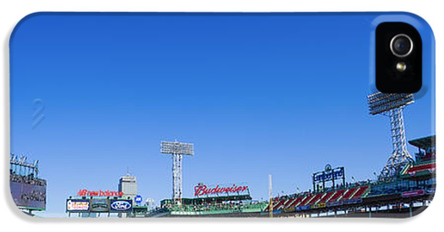 Fenway IPhone 5 / 5s Case featuring the photograph Fenway Park- Home Of The Boston Red Sox by Diane Diederich