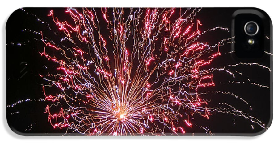 Fireworks IPhone 5 / 5s Case featuring the photograph Fireworks For All by Terry Weaver
