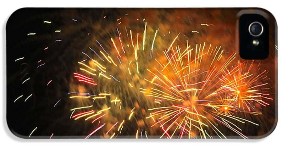 Fireworks IPhone 5 / 5s Case featuring the photograph Fireworks IIi by Tiffany Erdman