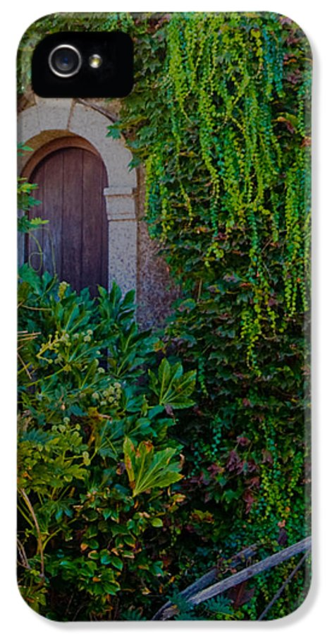 Winery IPhone 5 / 5s Case featuring the photograph First Door On The Left by Bill Gallagher
