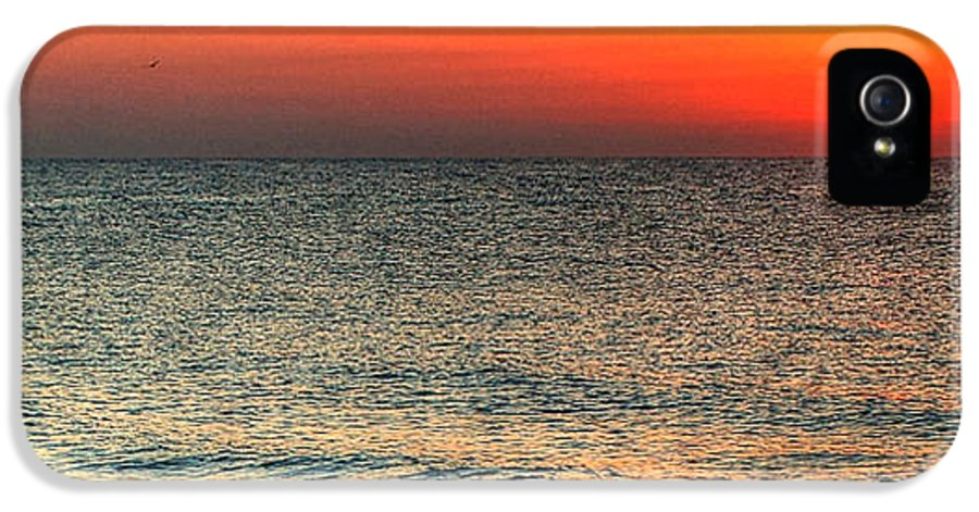 Alabama IPhone 5 / 5s Case featuring the digital art Florida Point Sunrise by Michael Thomas