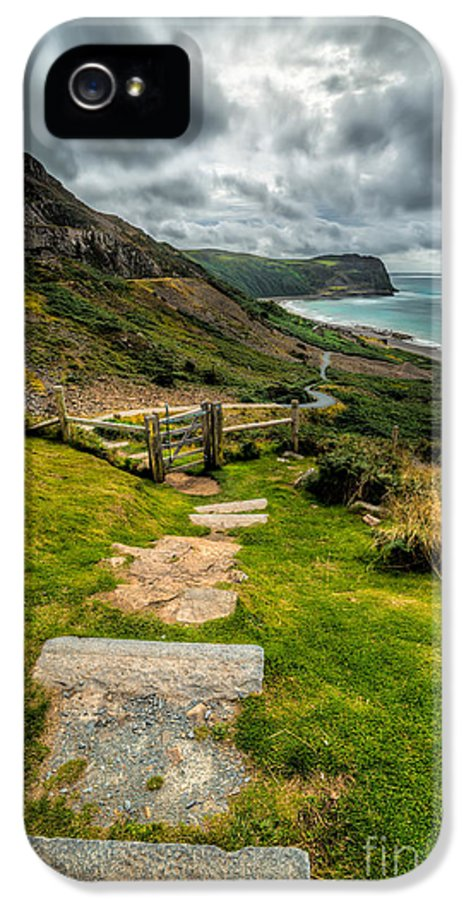 Beach IPhone 5 / 5s Case featuring the photograph Follow The Path by Adrian Evans