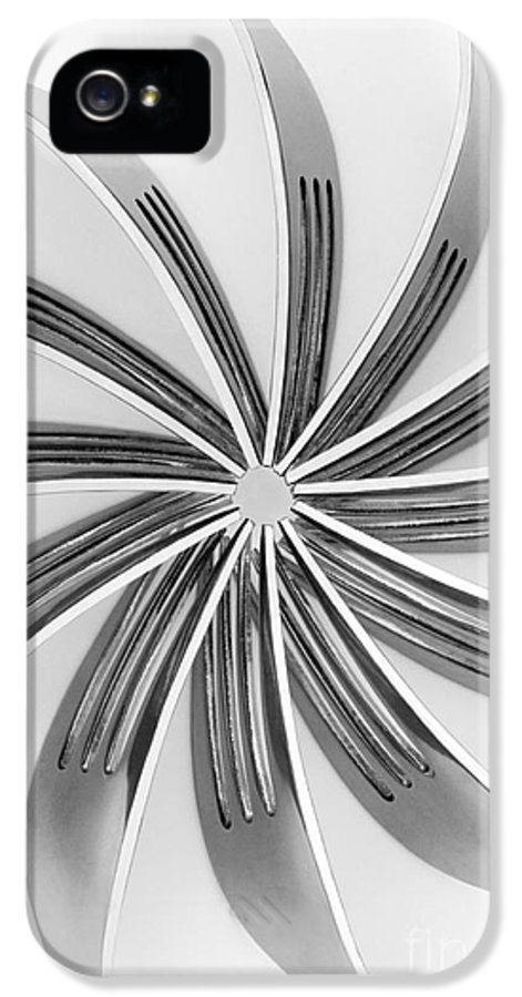 Fork IPhone 5 / 5s Case featuring the photograph Forks Viii by Natalie Kinnear