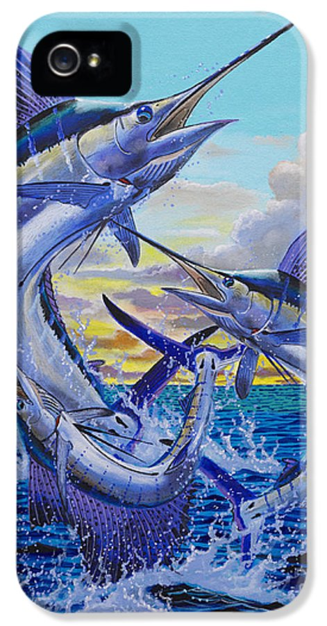 Grand Slam IPhone 5 / 5s Case featuring the painting Grand Slam Off0016 by Carey Chen