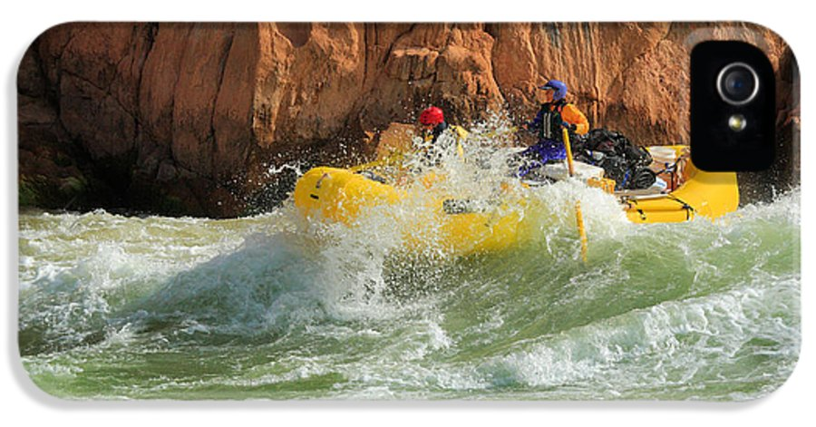 America IPhone 5 / 5s Case featuring the photograph Granite Rapids by Inge Johnsson