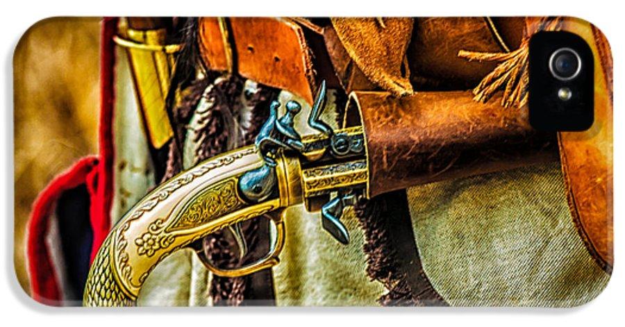 American Revolution IPhone 5 / 5s Case featuring the photograph Hand Gun by Louis Dallara
