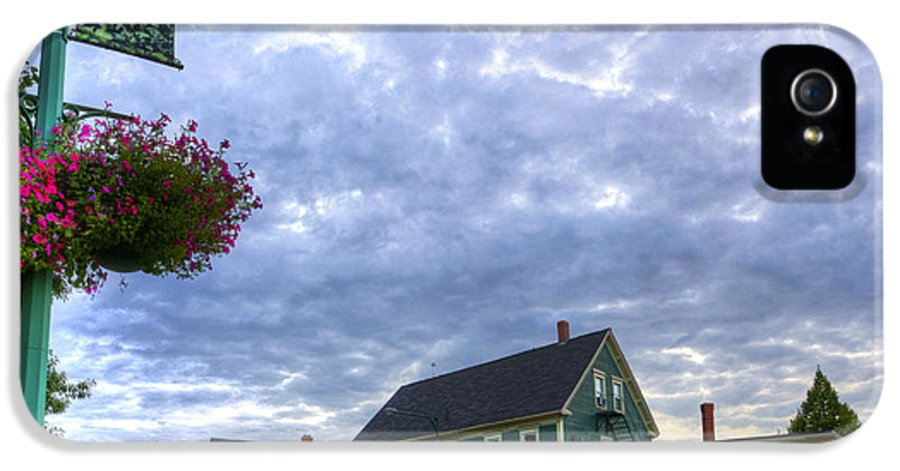Sussex Nb IPhone 5 / 5s Case featuring the photograph Hdr Sussex Broad Street Sharps Sky by Jamie Roach
