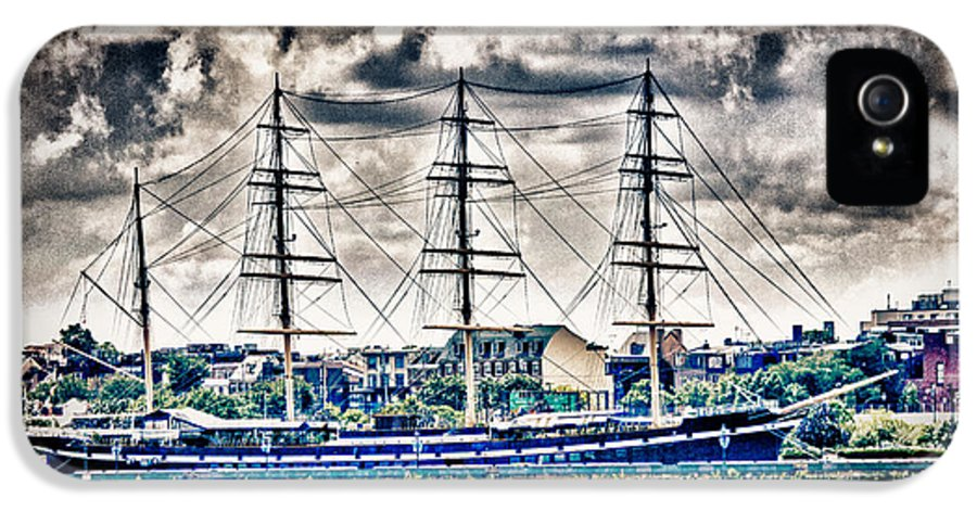 Hdr IPhone 5 / 5s Case featuring the photograph Hdr Tall Ship Boat Pirate Sail Sailing Photography Gallery Art Image Photo Buy Sell Sale Picture by Pictures HDR