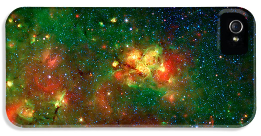 Universe IPhone 5 / 5s Case featuring the photograph Hidden Nebula by The Vault - Jennifer Rondinelli Reilly